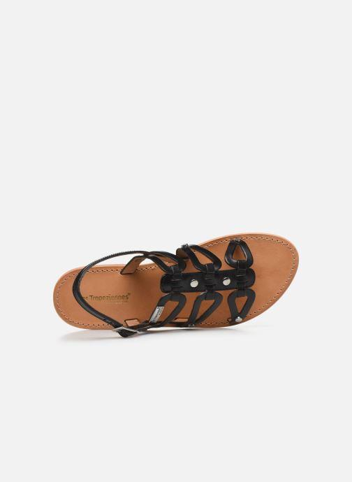 Sandales et nu-pieds Les Tropéziennes par M Belarbi HAMPI Noir vue gauche