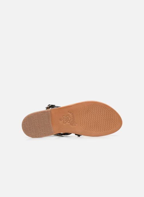 Sandales et nu-pieds Les Tropéziennes par M Belarbi HAMPI Noir vue haut