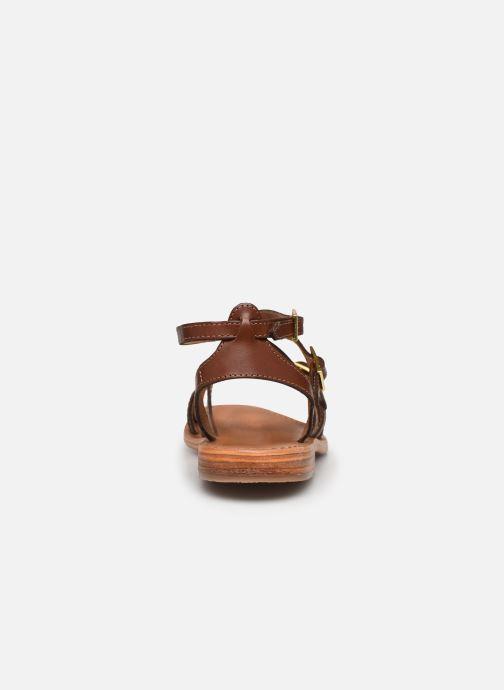 Sandaler Les Tropéziennes par M Belarbi BOUCLE Brun Se fra højre
