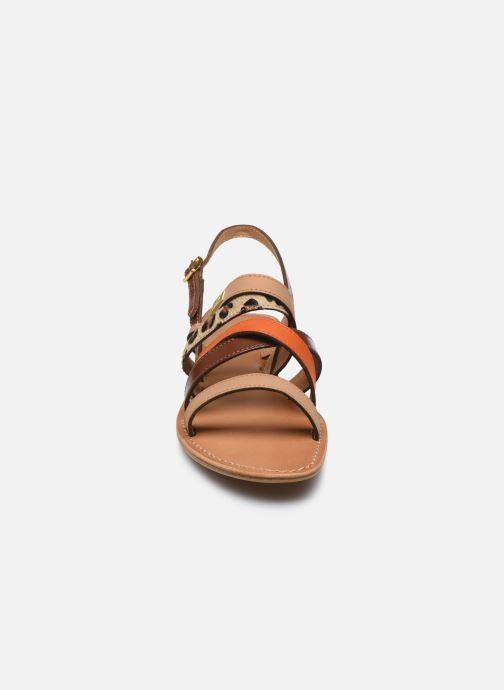 Sandales et nu-pieds Les Tropéziennes par M Belarbi HOP Orange vue portées chaussures