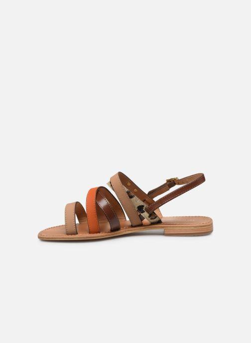 Sandales et nu-pieds Les Tropéziennes par M Belarbi HOP Orange vue face