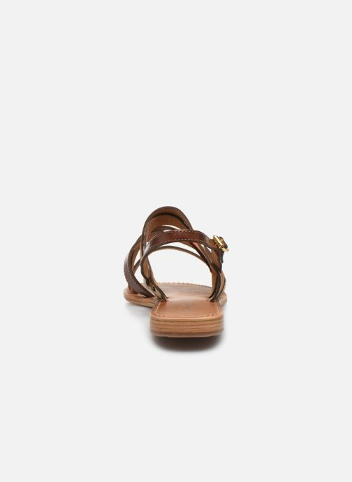 Sandales et nu-pieds Les Tropéziennes par M Belarbi HOP Orange vue droite