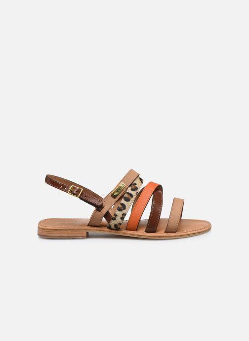 Sandales et nu-pieds Les Tropéziennes par M Belarbi HOP Orange vue derrière