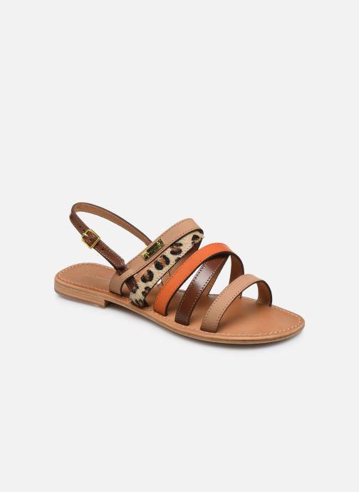 Sandales et nu-pieds Les Tropéziennes par M Belarbi HOP Orange vue détail/paire