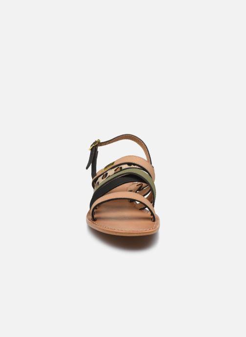 Sandales et nu-pieds Les Tropéziennes par M Belarbi HOP Vert vue portées chaussures