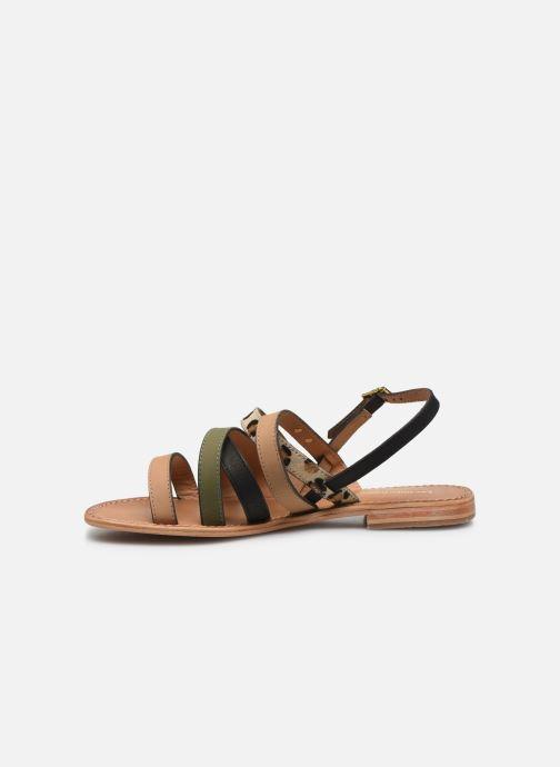 Sandales et nu-pieds Les Tropéziennes par M Belarbi HOP Vert vue face