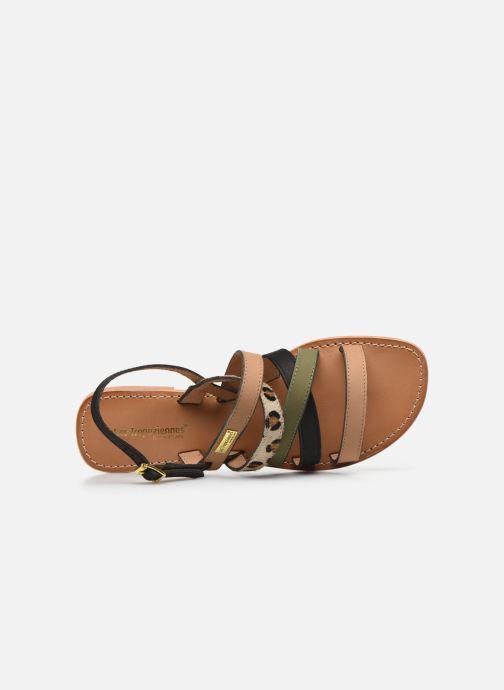 Sandales et nu-pieds Les Tropéziennes par M Belarbi HOP Vert vue gauche