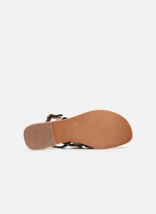 Sandales et nu-pieds Les Tropéziennes par M Belarbi HOP Vert vue haut