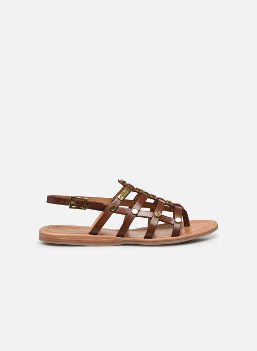Sandales et nu-pieds Les Tropéziennes par M Belarbi HAKEA F Marron vue derrière