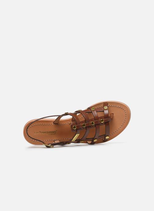 Sandales et nu-pieds Les Tropéziennes par M Belarbi HAKEA F Marron vue gauche