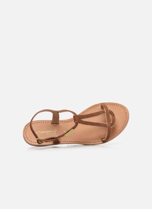 Sandales et nu-pieds Les Tropéziennes par M Belarbi HABUC Marron vue gauche