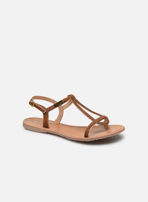 Sandales et nu-pieds Les Tropéziennes par M Belarbi HABUC Marron vue détail/paire