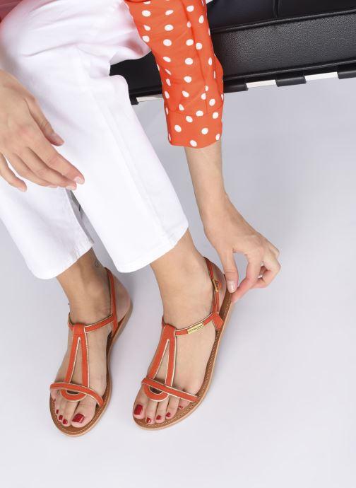 Sandalen Les Tropéziennes par M Belarbi HABUC orange ansicht von unten / tasche getragen