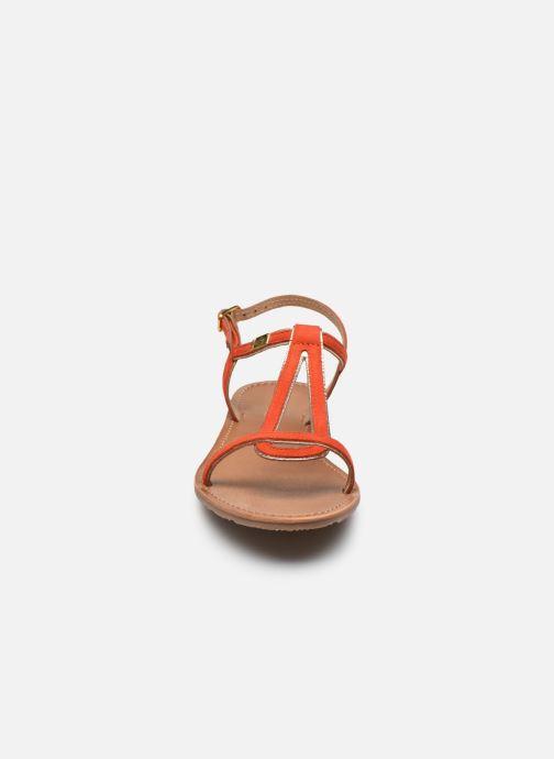 Sandalen Les Tropéziennes par M Belarbi HABUC orange schuhe getragen