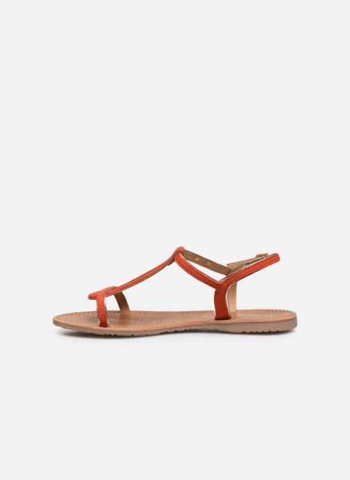 Sandalen Les Tropéziennes par M Belarbi HABUC orange ansicht von vorne