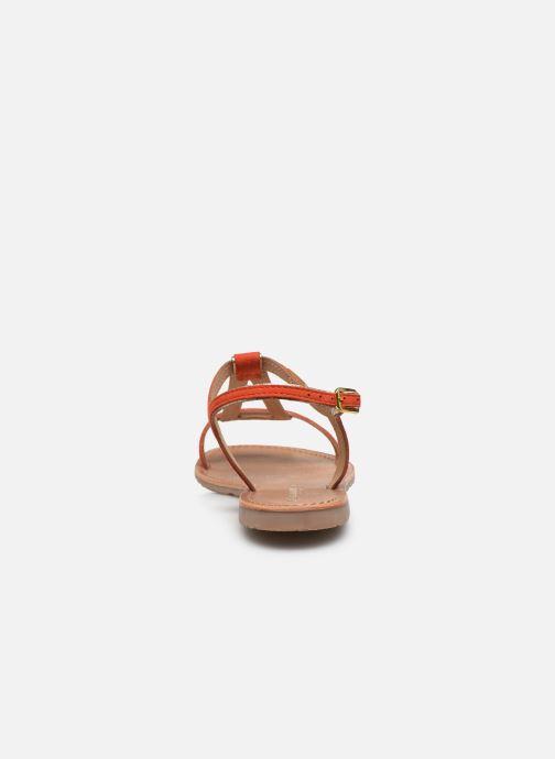 Sandalen Les Tropéziennes par M Belarbi HABUC orange ansicht von rechts