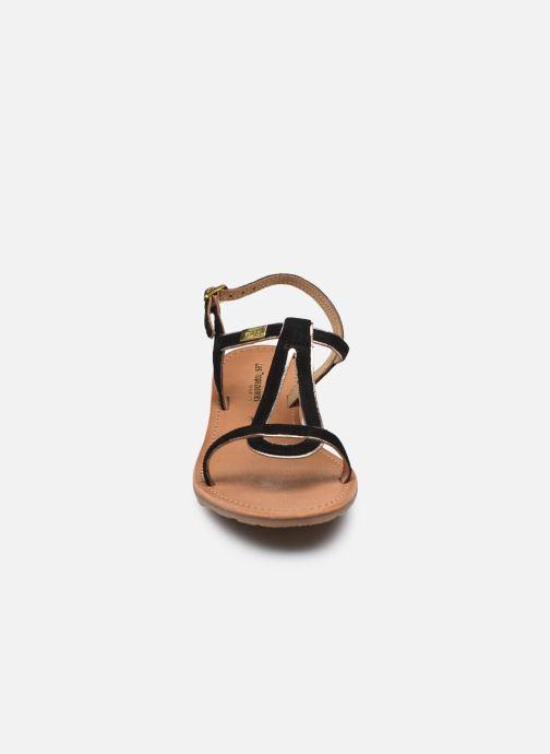 Sandales et nu-pieds Les Tropéziennes par M Belarbi HABUC Noir vue portées chaussures