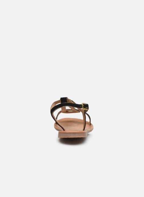 Sandales et nu-pieds Les Tropéziennes par M Belarbi HABUC Noir vue droite