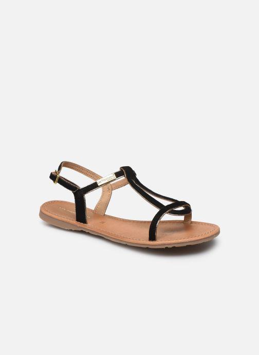 Sandales et nu-pieds Les Tropéziennes par M Belarbi HABUC Noir vue détail/paire