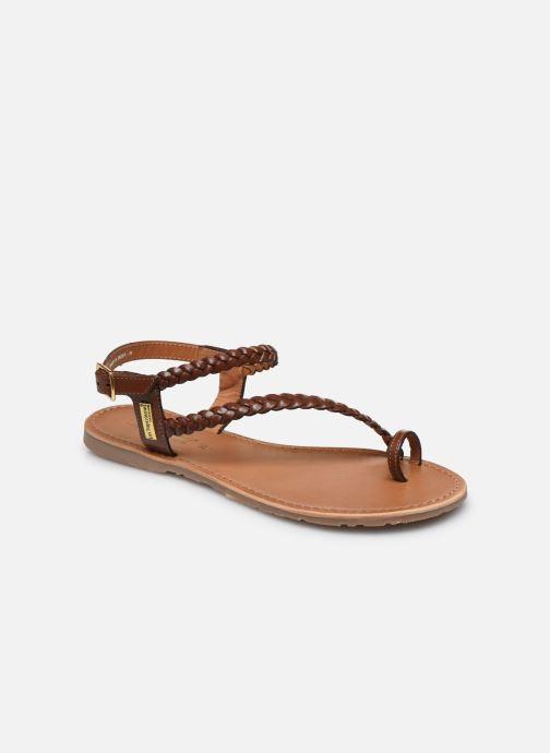 Sandales et nu-pieds Les Tropéziennes par M Belarbi HIDEA Marron vue détail/paire