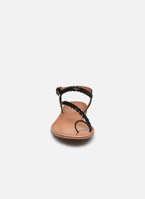 Sandalen Les Tropéziennes par M Belarbi HIDEA schwarz schuhe getragen