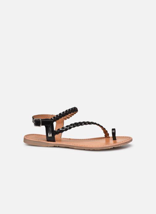 Sandalen Les Tropéziennes par M Belarbi HIDEA schwarz ansicht von hinten