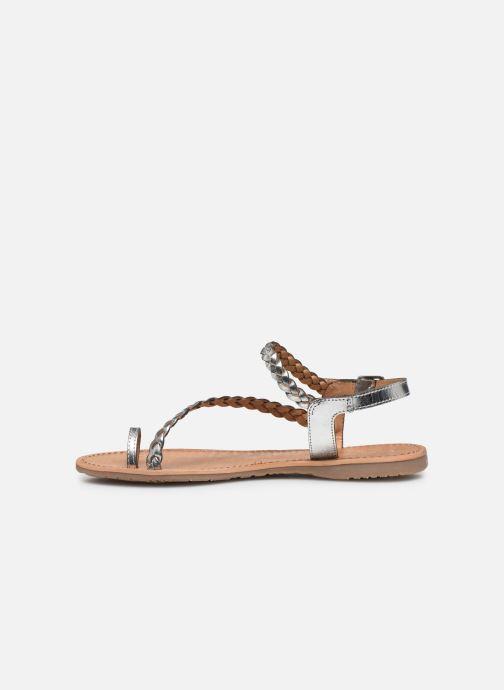 Sandales et nu-pieds Les Tropéziennes par M Belarbi HIDEA Argent vue face