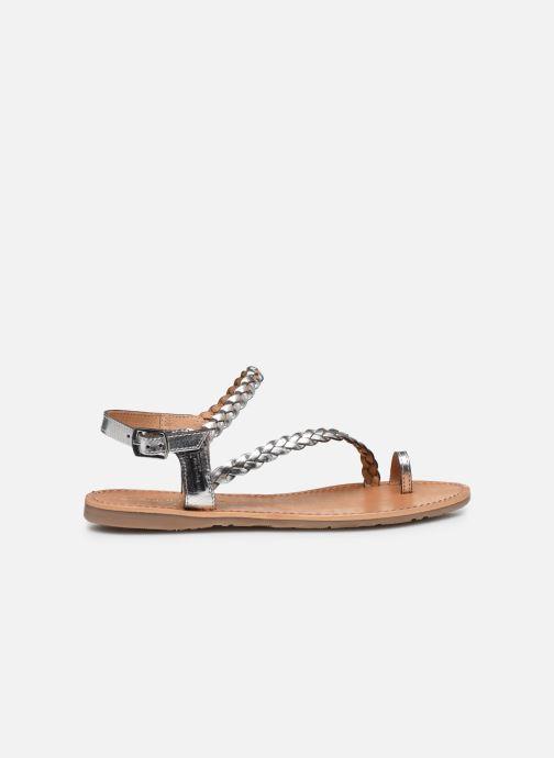 Sandales et nu-pieds Les Tropéziennes par M Belarbi HIDEA Argent vue derrière