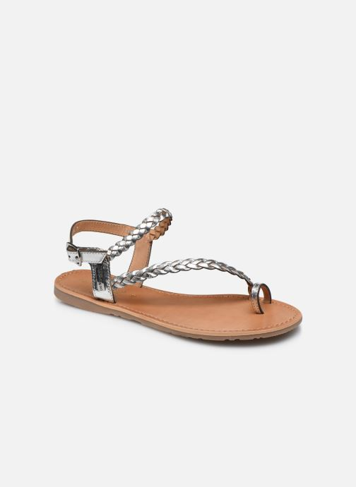 Sandales et nu-pieds Les Tropéziennes par M Belarbi HIDEA Argent vue détail/paire
