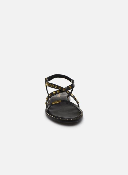 Sandales et nu-pieds Les Tropéziennes par M Belarbi POLO Noir vue portées chaussures