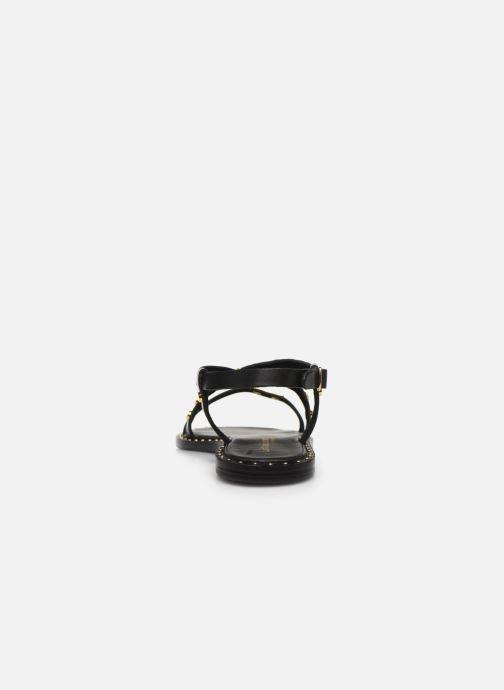 Sandalias Les Tropéziennes par M Belarbi POLO Negro vista lateral derecha