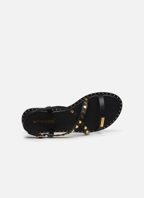 Sandales et nu-pieds Les Tropéziennes par M Belarbi POLO Noir vue gauche