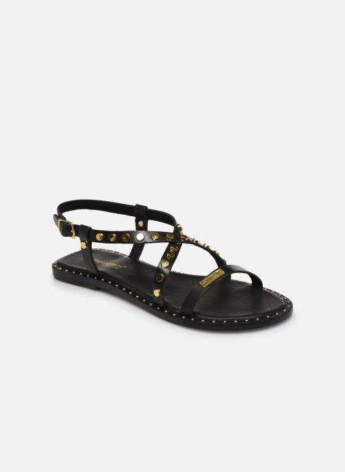 Sandales et nu-pieds Les Tropéziennes par M Belarbi POLO Noir vue détail/paire