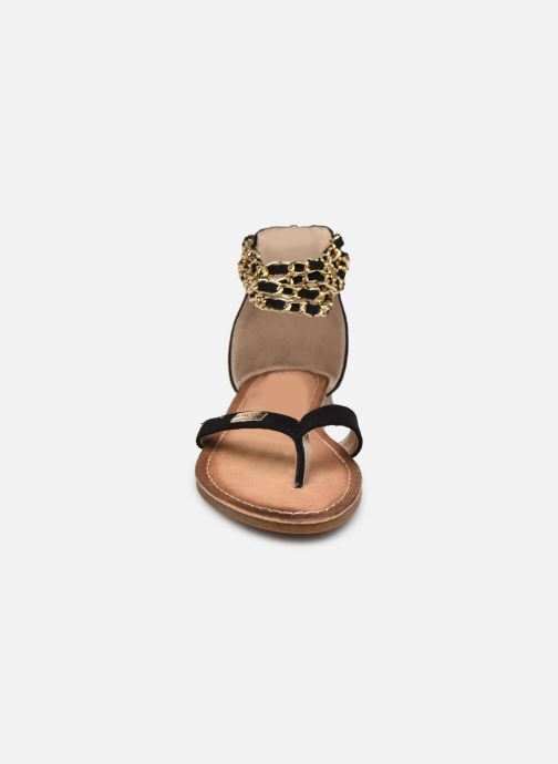 Sandales et nu-pieds Les Tropéziennes par M Belarbi GRIFIA Noir vue portées chaussures
