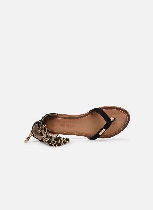 Sandales et nu-pieds Les Tropéziennes par M Belarbi GRIFIA Noir vue gauche