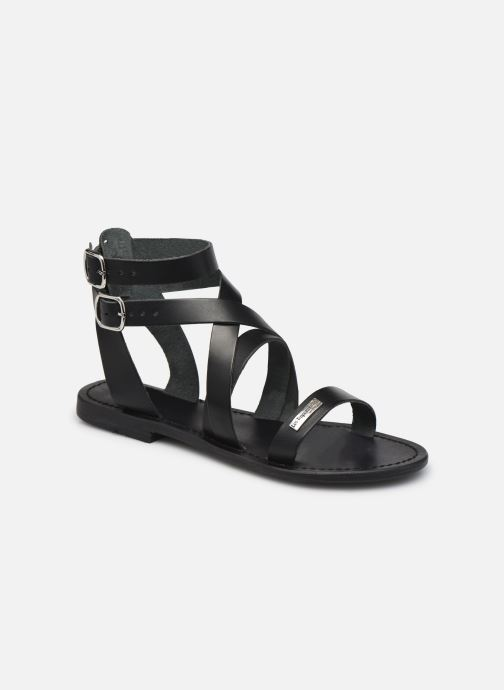 Sandales et nu-pieds Les Tropéziennes par M Belarbi OCEANIE Noir vue détail/paire