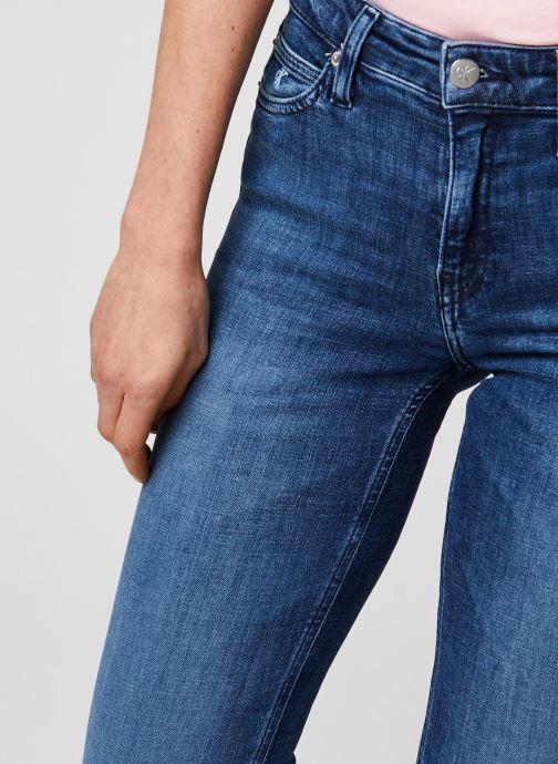 Vêtements Calvin Klein Jeans CKJ 021 Mid Rise Slim Bleu vue face