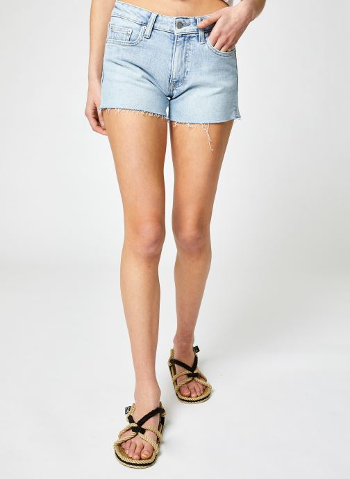 Ropa Calvin Klein Jeans Mid Rise Short Azul vista de detalle / par