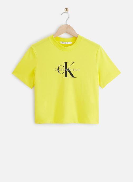 T-shirt - Monogram Modern Straight Crop