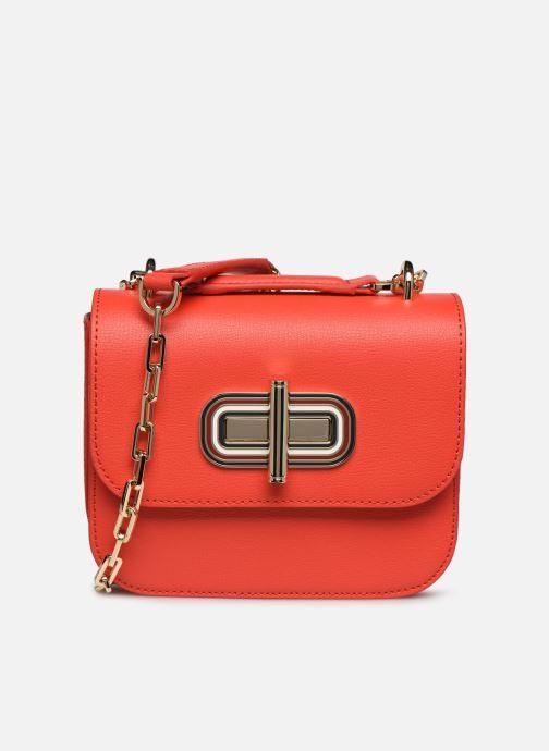 Bolsos de mano Tommy Hilfiger TURNLOCK MINI CROSSOVER Rojo vista de detalle / par