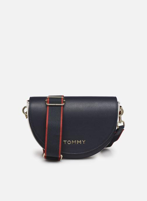 Handtaschen Tommy Hilfiger TOMMY STAPLE SADDLE blau detaillierte ansicht/modell