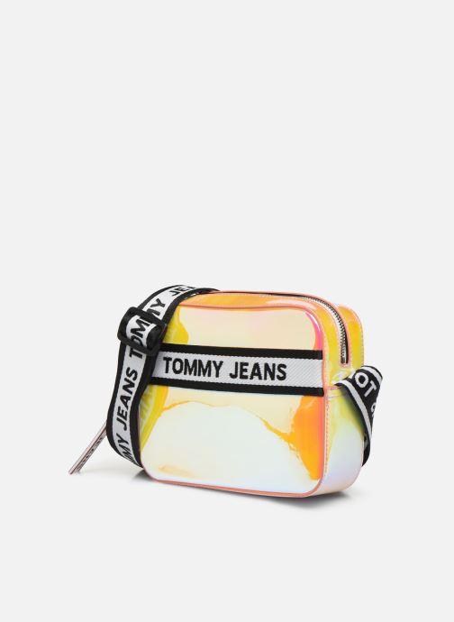 Sacs à main Tommy Hilfiger TJW LOGO TAPE CROSSOVER PU Multicolore vue portées chaussures