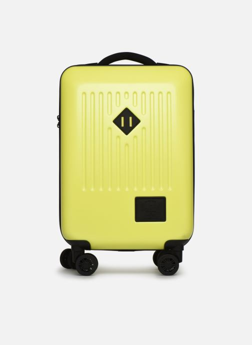 Bagages Herschel TRADE CARRY ON cabine Jaune vue détail/paire