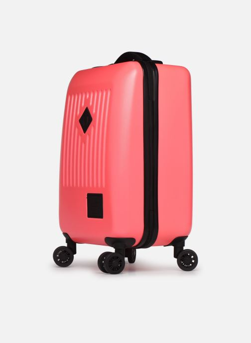 Bagages Herschel TRADE CARRY ON cabine Rose vue portées chaussures