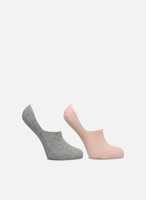 Chaussettes et collants Dim Protège-Pieds Basket Coton X2 Gris vue détail/paire
