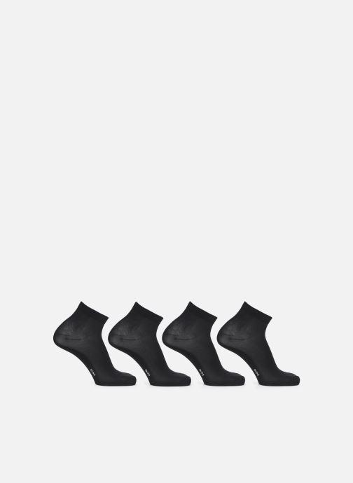 Sokken en panty's Dim Socquette Skin 3+1 Zwart voorkant