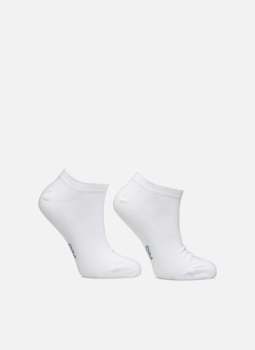 Chaussettes et collants Dim Socquette Courte Green By Dim X2 Blanc vue détail/paire
