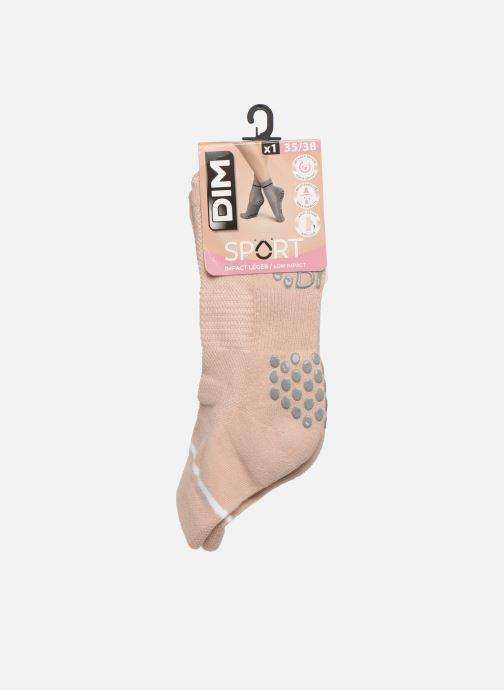 Grande Vente Accessoires Dim Socquette Yoga Low Impact Beige Chaussettes et collants 436133