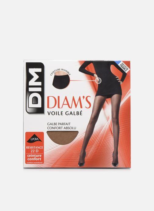Chaussettes et collants Dim DIAMS VOILE GALBÉ Beige vue détail/paire