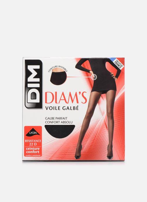 Chaussettes et collants Dim DIAMS VOILE GALBÉ Noir vue détail/paire